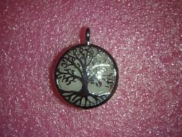 Roosa kvarts -  ripats-medaljon - Elupuu