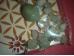 Erinevad poolvääriskivid - amasoniit ja mäekristall - komplekt Süda - kõrvarõngad ja käevõru - SÜGISTALVINE ALLAHINDLUS