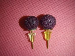 Laavakivi - kõrvarõngad