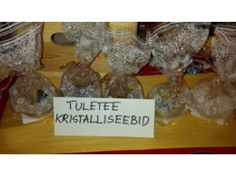 Käsitööseep - muffinikujuline - Tuletee kristalliseep - SÜGISTALVINE ALLAHINDLUS - VIIMASED
