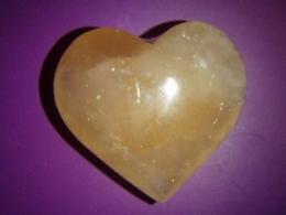 Seleniit - oranž seleniit - imekaunis süda