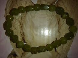 Serpentiin - Peruu serpentiin ja oliivjaad - käevõru