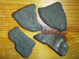 Šungiit - naturaalne kivi - komplekt - 4 kivi - ALLAHINDLUS