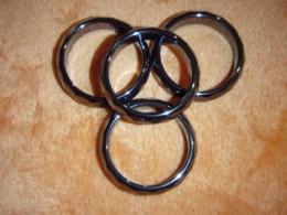 Hematiit - fassettlihviga sõrmused - VIIMASED - TALVINE ALLAHINDLUS
