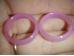 Ahhaat - sõrmused - roosa ahhaat