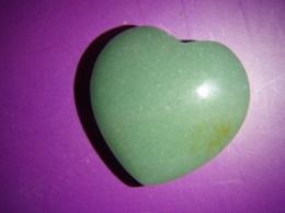 Aventuriin - roheline aventuriin - süda 3 cm
