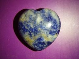 Sodaliit - lihvitud süda 3 cm