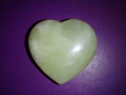 Jaad - lihvitud süda 4 cm