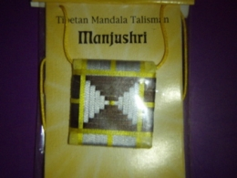 Mandala talisman Manjushri