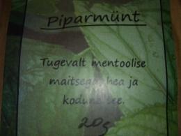 Mõnus taimetee - Piparmünt
