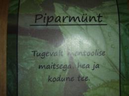 Mõnus taimetee - Piparmünt - VIIMASED