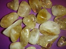 Tsitriin - lihvitud kivi