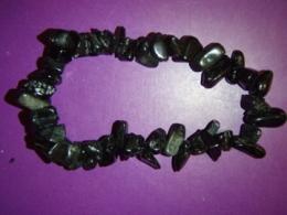 Turmaliin - must turmaliin (schorl) - käevõru - VIIMANE