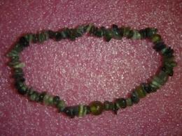 Turmaliin - roheline turmaliin - käevõru - ALLAHINDLUS
