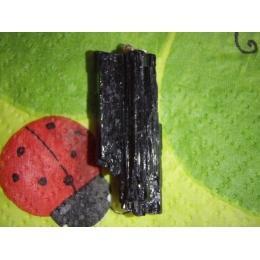 Turmaliin - must turmaliin (schorl) - ripats - VIIMANE