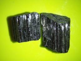 Turmaliin - must turmaliin e schorl - A-grupi kivim - töötlemata