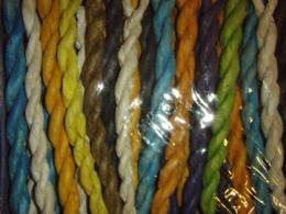 Tiibeti keerutatud lõhnapulgad - värvilised